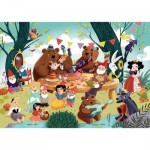 Puzzle-Michele-Wilson-W067-50 Wooden Puzzle - Once upon a Time