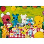 Puzzle-Michele-Wilson-W101-12 Jigsaw Puzzle - 12 Pieces - Wooden - Art - Penelope's Birthday