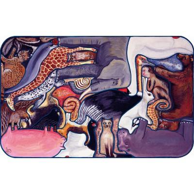 Puzzle-Michele-Wilson-W104-24 Jigsaw Puzzle - 24 Pieces - Wooden - Art - Dolbeau : Crazy Animals