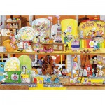 Puzzle-Michele-Wilson-W114-100 Jigsaw Puzzle - 100 Pieces - Wooden - Art - Cacouault : Sweet Factory