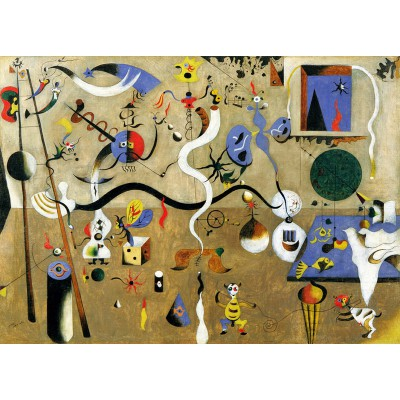 Puzzle-Michele-Wilson-W154-50 Jigsaw Puzzle - 50 Pieces - Wooden - Art - Miro : Carnaval
