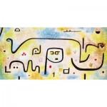 Puzzle-Michele-Wilson-W182-12 Wooden Jigsaw Puzzle - Paul Klee: Insula Dulcamara