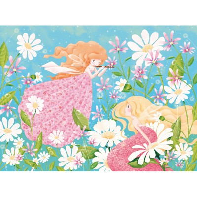 Puzzle-Michele-Wilson-W206-50 Jigsaw Puzzle - 50  Pieces - Art - Maxi - Wooden - Delanssay : Fairy Melody
