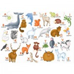 Puzzle  Puzzle-Michele-Wilson-W306-12 Hannah Weeks: The animals alphabet
