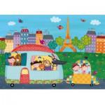 Puzzle-Michele-Wilson-W400-12 Wooden Puzzle - Hello, Paris.