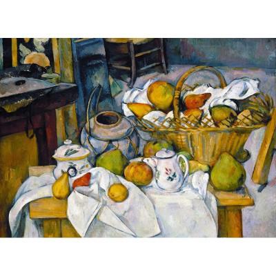 Puzzle-Michele-Wilson-W41-24 Jigsaw Puzzle - 24 Pieces - Wooden - Art - Cezanne : Still Life