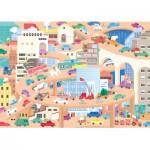 Puzzle-Michele-Wilson-W442-24 Wooden Puzzle - Lucie Georger: Vive la Ville