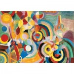 Puzzle-Michele-Wilson-W451-50 Wooden Jigsaw Puzzle - Robert Delaunay