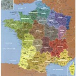 Puzzle-Michele-Wilson-W50-24 Jigsaw Puzzle - 24 Pieces - Wooden - Art - Geography : Map of France