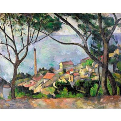 Puzzle Puzzle-Michele-Wilson-W531-50 Paul Cezanne: View on the Estaque