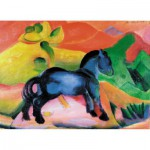 Puzzle-Michele-Wilson-W60-12 Jigsaw Puzzle - 12 Pieces - Wooden - Art - Marc : Blue Horse