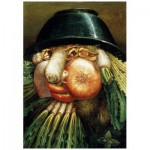 Puzzle-Michele-Wilson-W97-12 Wooden Puzzle - Arcimboldo Giuseppe: The Greengrocer