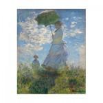 Wooden Jigsaw Puzzle - Claude Monet : La Femme à l'Ombrelle, 1875