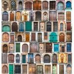 Wooden Jigsaw Puzzle - Doors