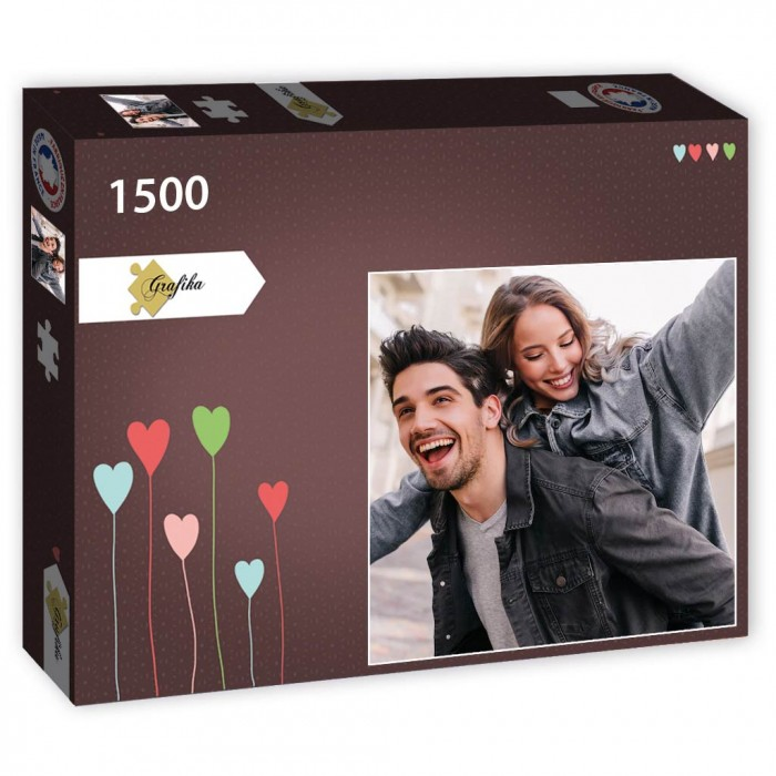 Jigsaw Puzzle - Personalised - 1500 Pieces - Square