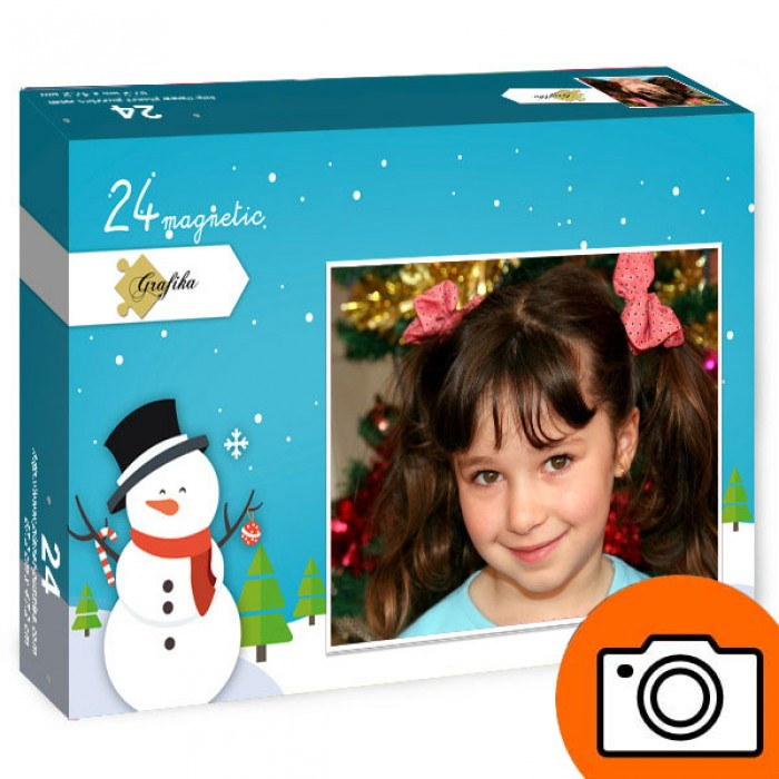 Jigsaw Puzzle - Personalised - 24 Magnetic Pieces