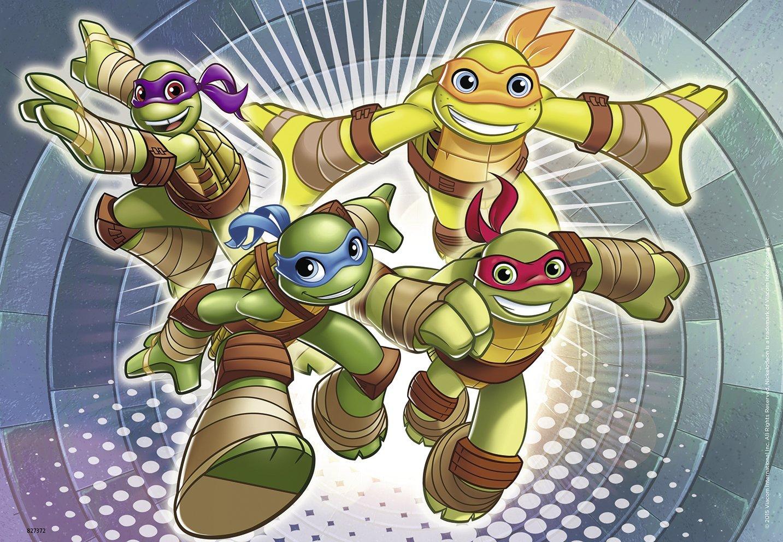 2 jigsaw puzzle ninja turtles ravensburger 07597 12 pieces