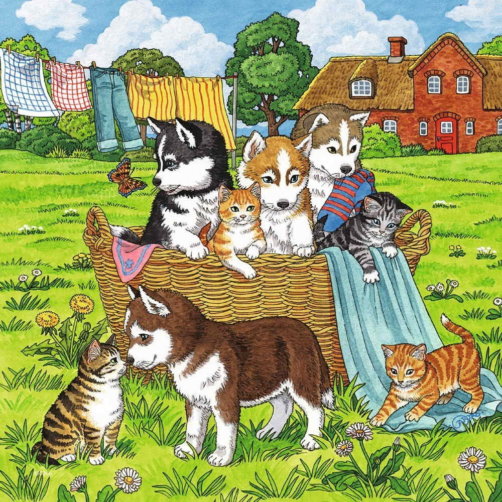 Ravensburger Cats Dogs