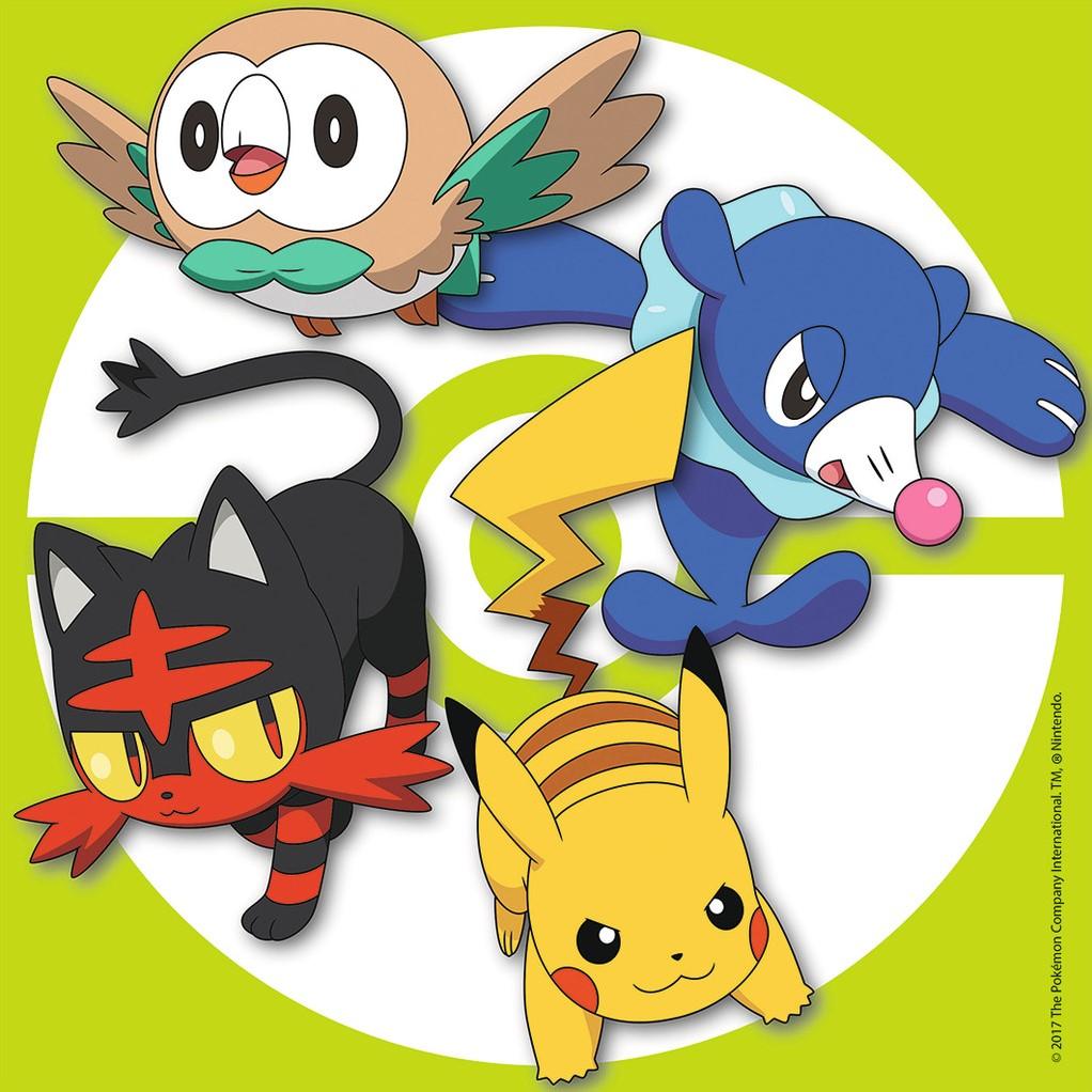 Uncategorized Pokemon Jigsaw Puzzle 3 jigsaw puzzles pokemon ravensburger 08019 49 pieces pokemon