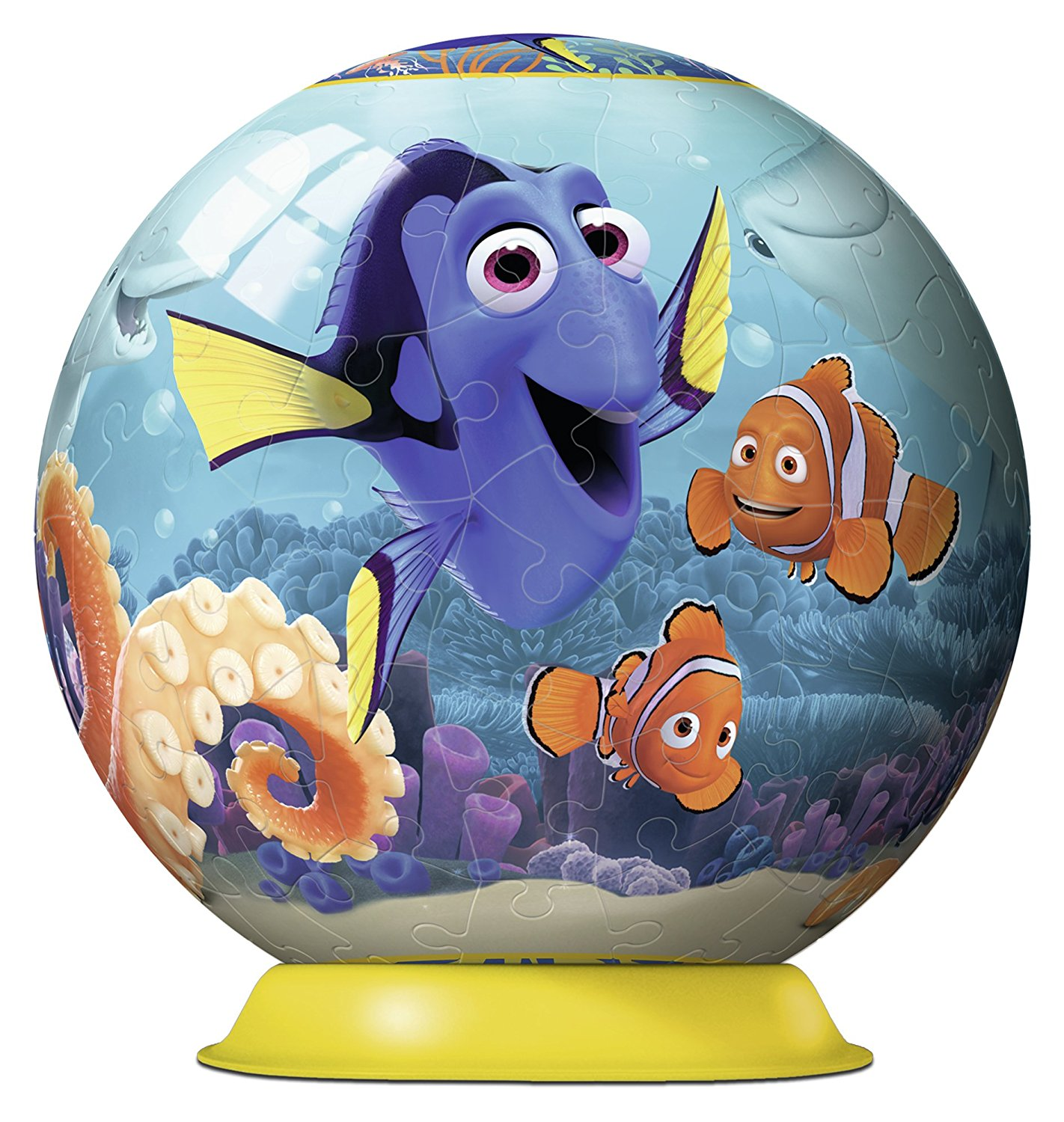 3D Jigsaw Puzzle - Finding Dory Ravensburger-12264 108 ...