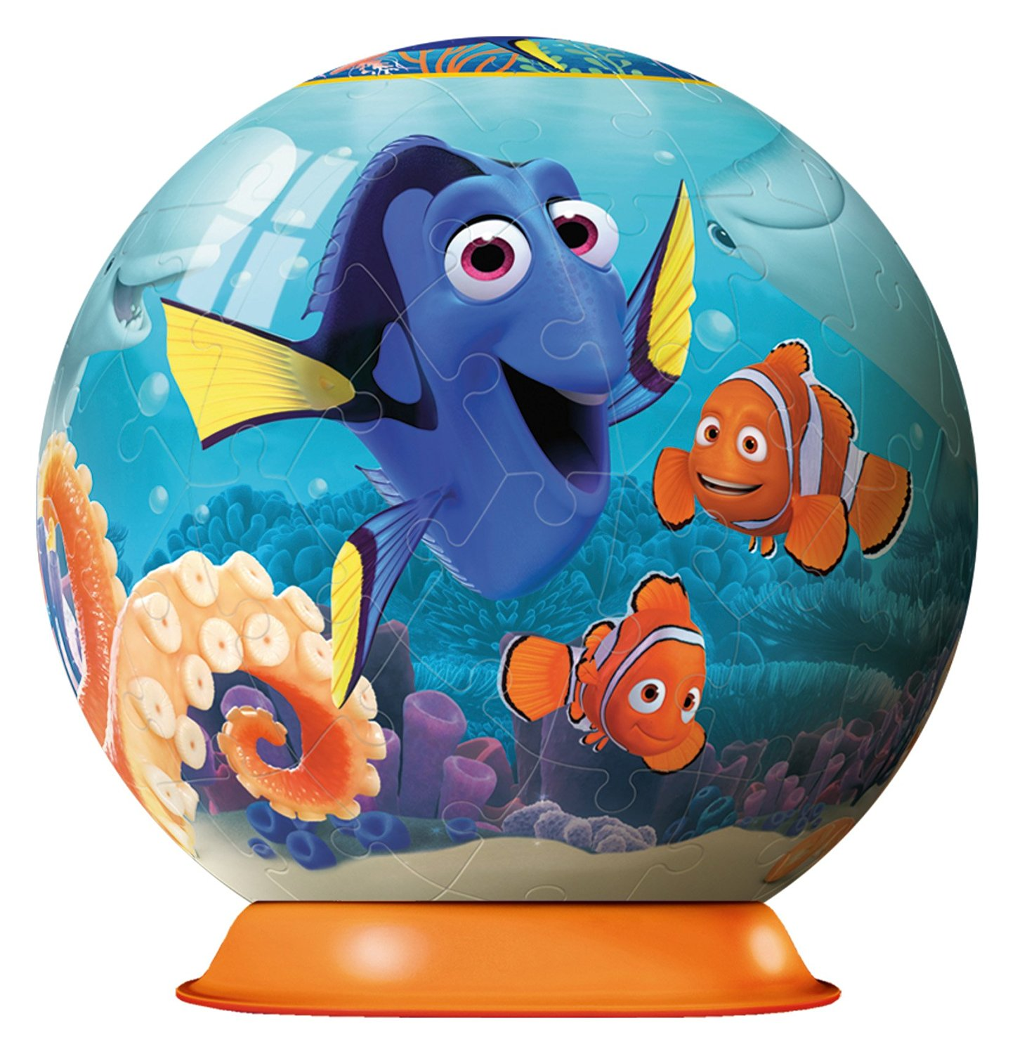 3D Jigsaw Puzzle - Finding Dory Ravensburger-12193 72 ...