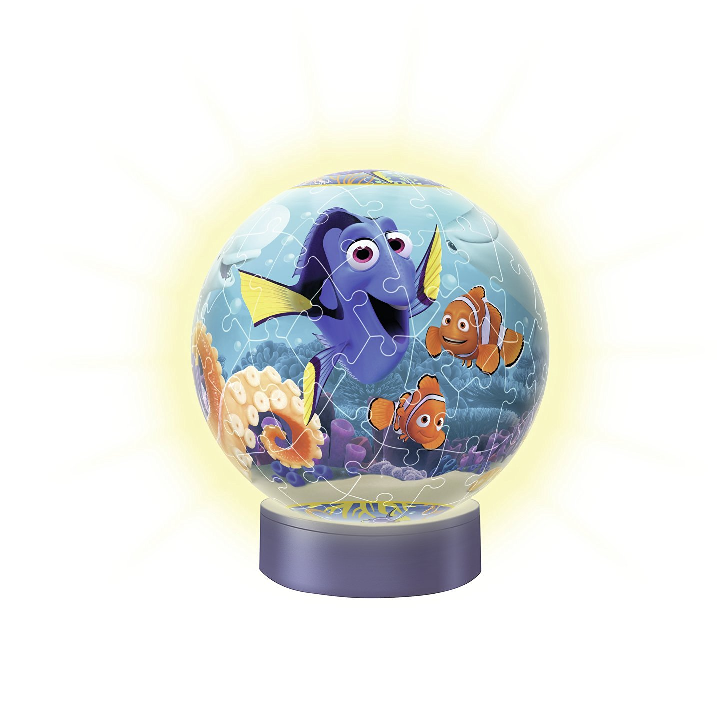 3D Jigsaw Puzzle with LED - Dory Ravensburger-12199 72 ...