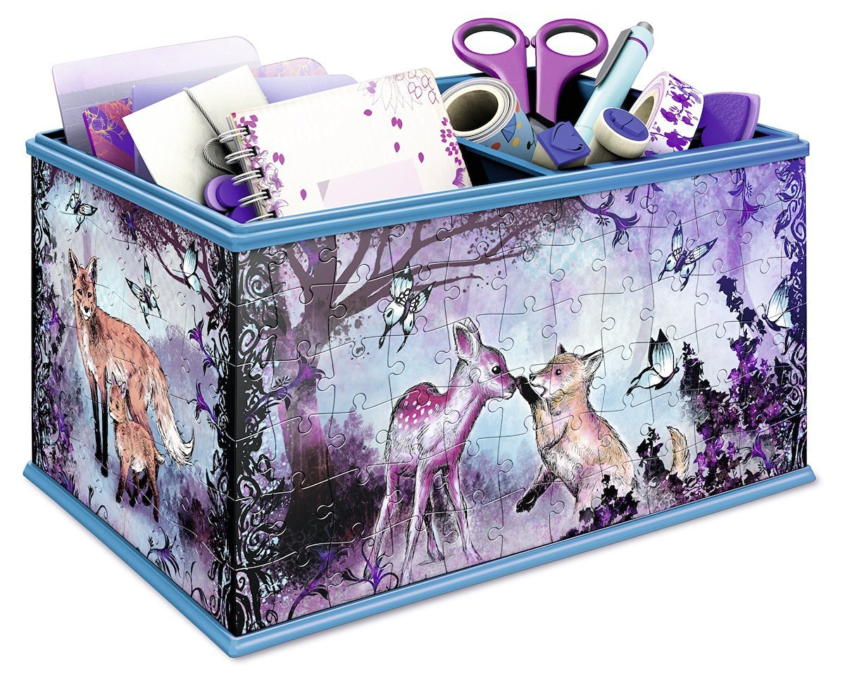sc 1 st  Jigsaw Puzzle.co.uk & 3D Puzzle - Girly Girls Edition - Storage Box Animal Trend ...