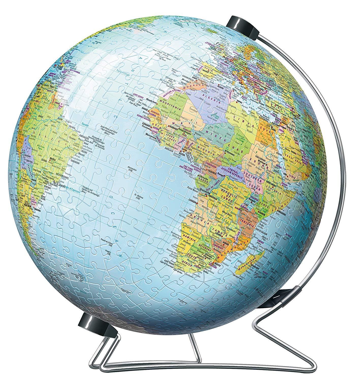 3D Puzzle Globe 540 piece jigsaw puzzle