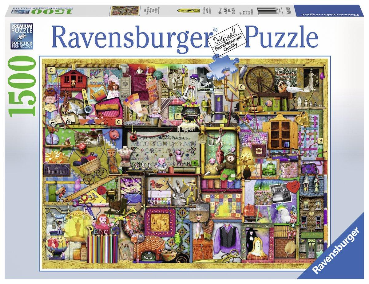 puzzle colin thompson ravensburger 16312 1500 pieces. Black Bedroom Furniture Sets. Home Design Ideas