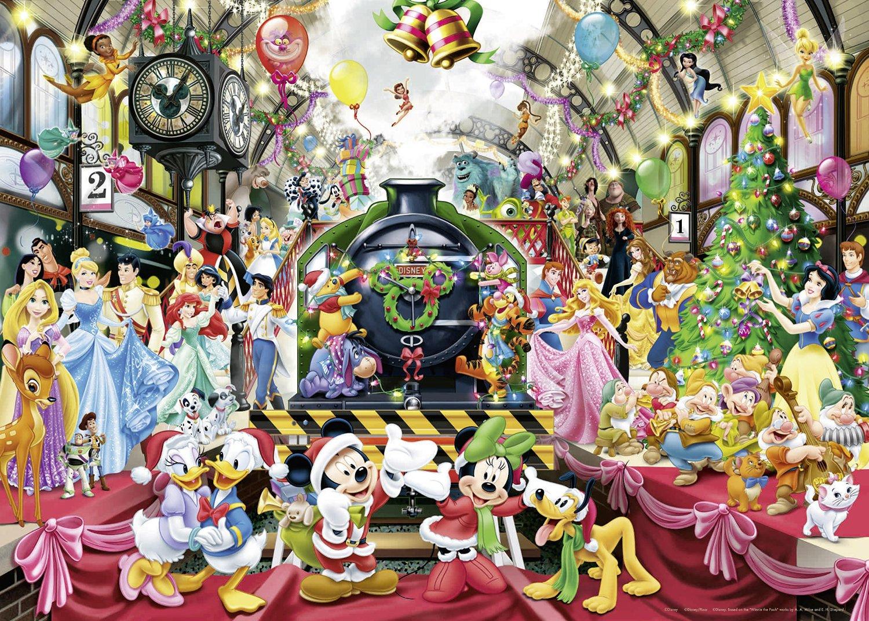 Puzzle disney christmas ravensburger 19553 1000 pieces jigsaw disney christmas gumiabroncs Images