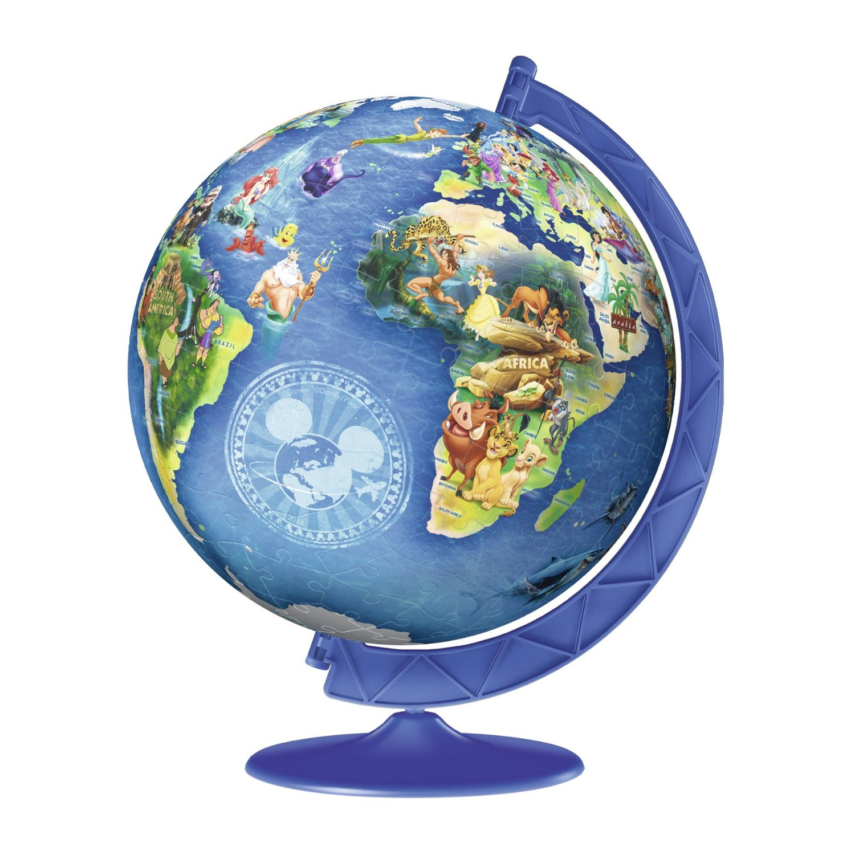 Puzzle disney globus ravensburger 12333 180 pieces jigsaw puzzles jigsaw puzzles world maps and mappemonde disney globus disney globus gumiabroncs Image collections