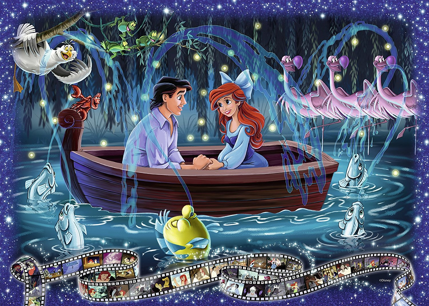 Disney - The Little Mermaid 1000 piece jigsaw puzzle