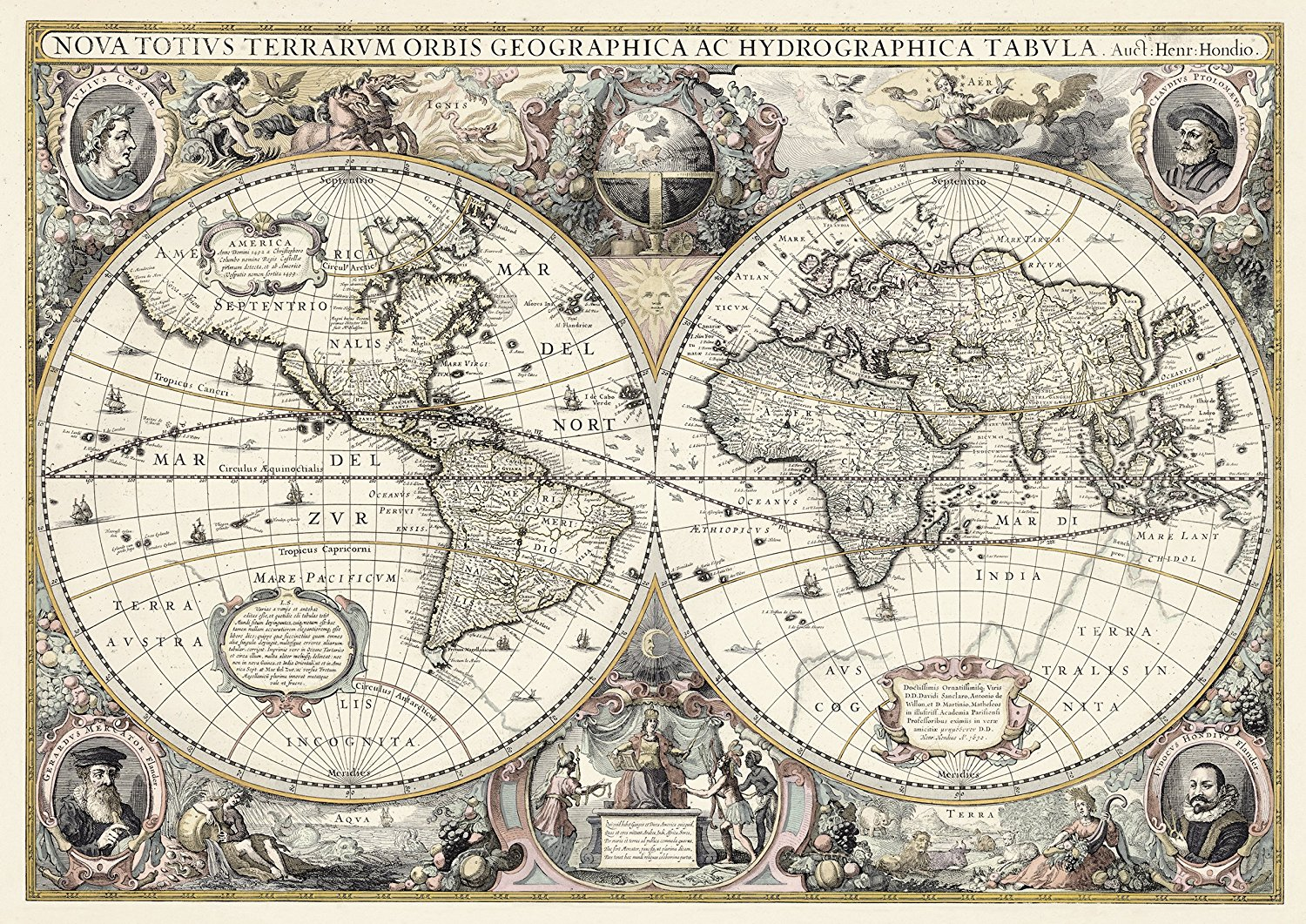 Puzzle do it yourself antique world map ravensburger 19931 1200 do it yourself antique world map gumiabroncs Image collections