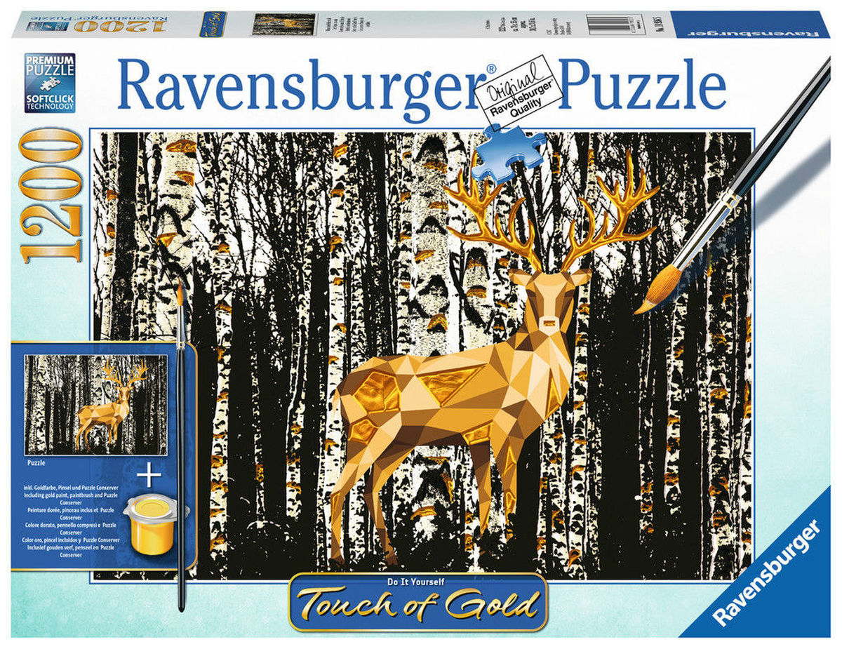 Puzzle do it yourself deer in the forest ravensburger 19936 1200 do it yourself deer in the forest solutioingenieria Image collections
