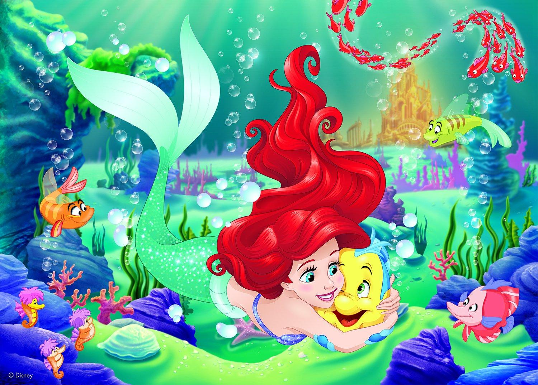 Floor Puzzle Disney Princess Arielle Ravensburger05468 24 pieces