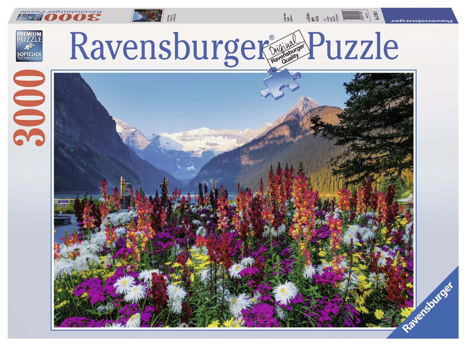 puzzle flowered mountains ravensburger 17061 3000 pieces jigsaw puzzles mountains jigsaw puzzle. Black Bedroom Furniture Sets. Home Design Ideas