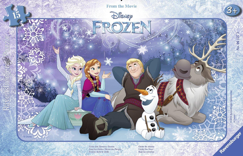Puzzle Frame Jigsaw Puzzle - Frozen