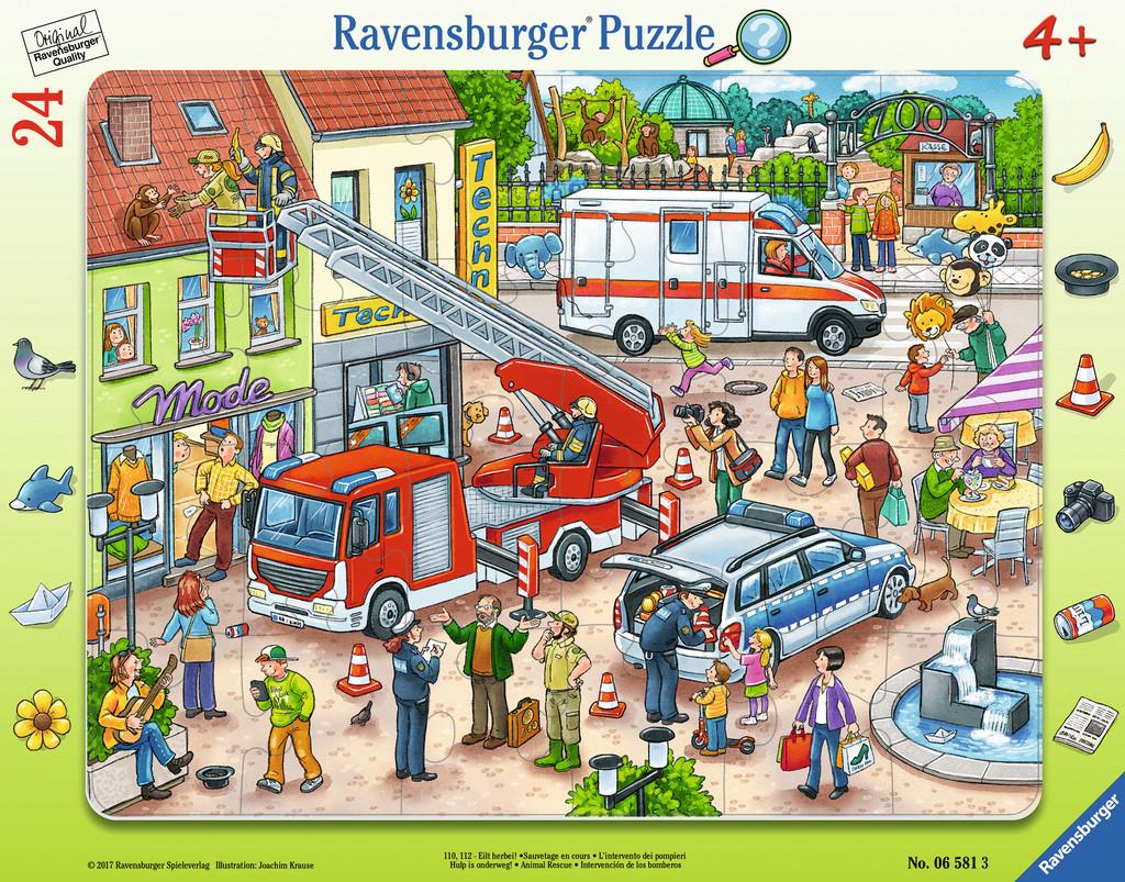 Frame Jigsaw Puzzle - Help! Ravensburger-06581 15 pieces Jigsaw ...