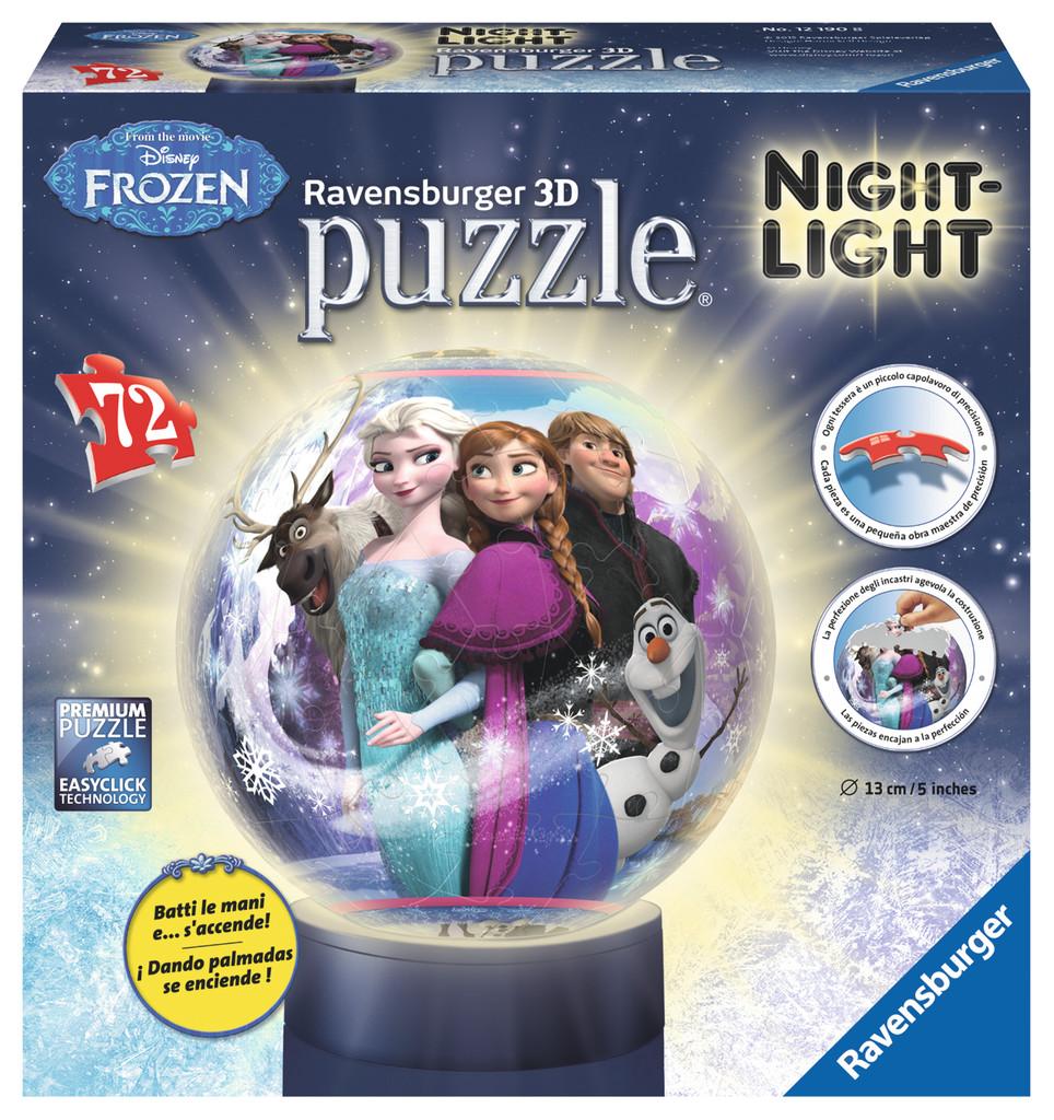 Disney Frozen 3d Puzzle Ball Jigsaw by