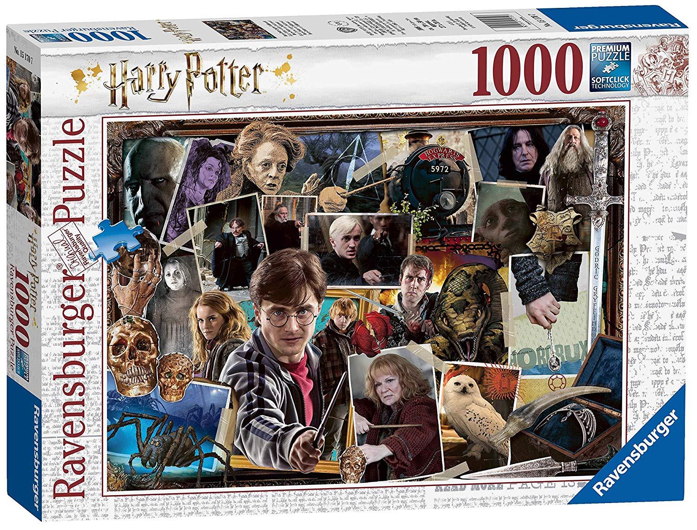 Harry Potter (TM) 1000 piece jigsaw puzzle