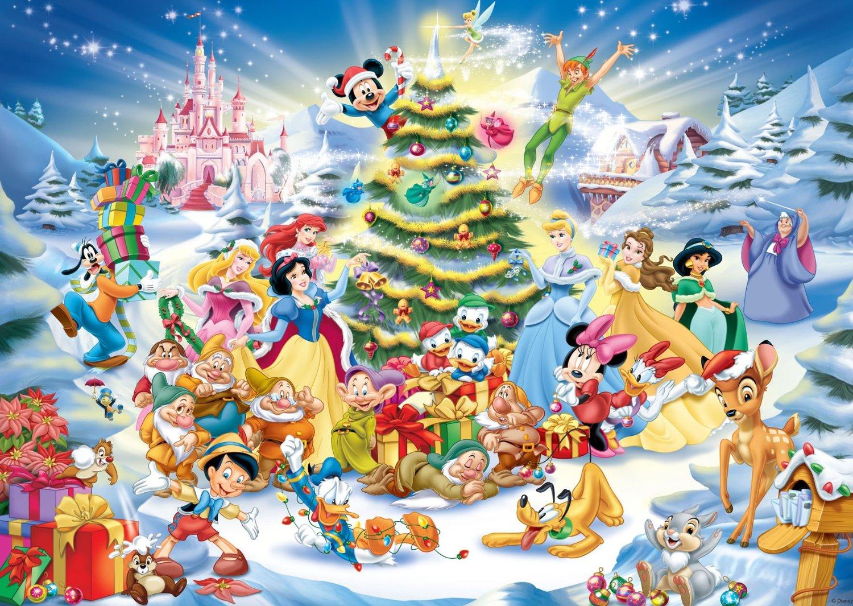 Jigsaw Puzzle - 1000 Pieces - Disney Christmas 1000 piece jigsaw puzzle