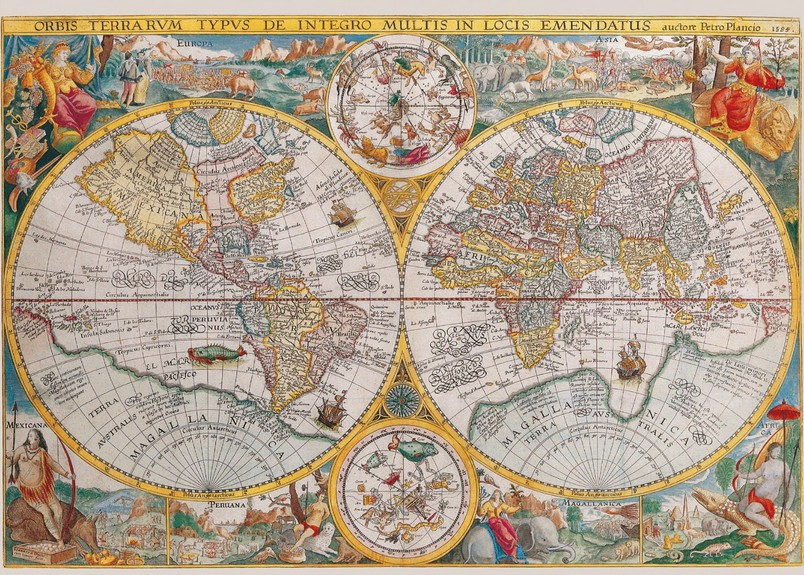 Jigsaw puzzle 1500 pieces ancient world map 1594 ravensburger jigsaw puzzle 1500 pieces ancient world map gumiabroncs