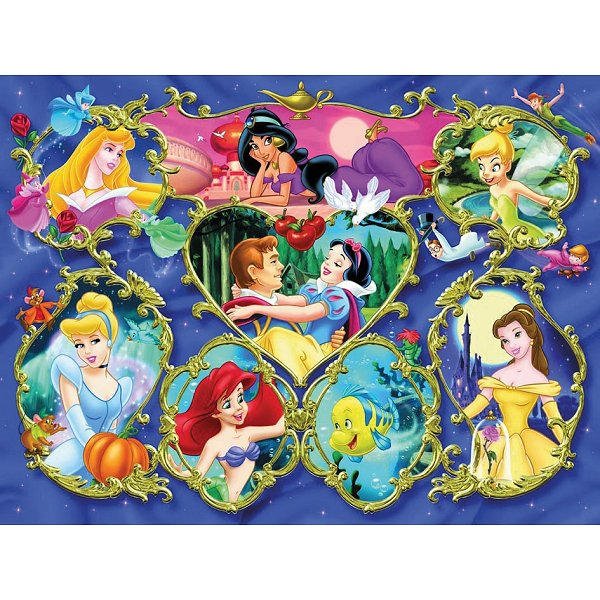 Jigsaw Puzzle 300 Pieces Disney Princesses Gallery