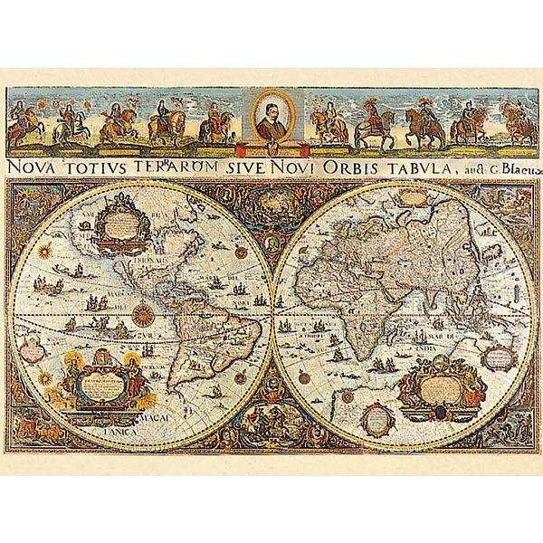 Jigsaw puzzle 3000 pieces world map 1665 ravensburger 17054 jigsaw puzzle 3000 pieces world map gumiabroncs Images