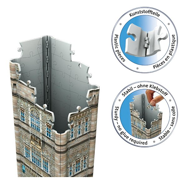 3ffaf0c25 Jigsaw Puzzle - 3D - 216 Pieces : Tower Bridge, London Ravensburger ...