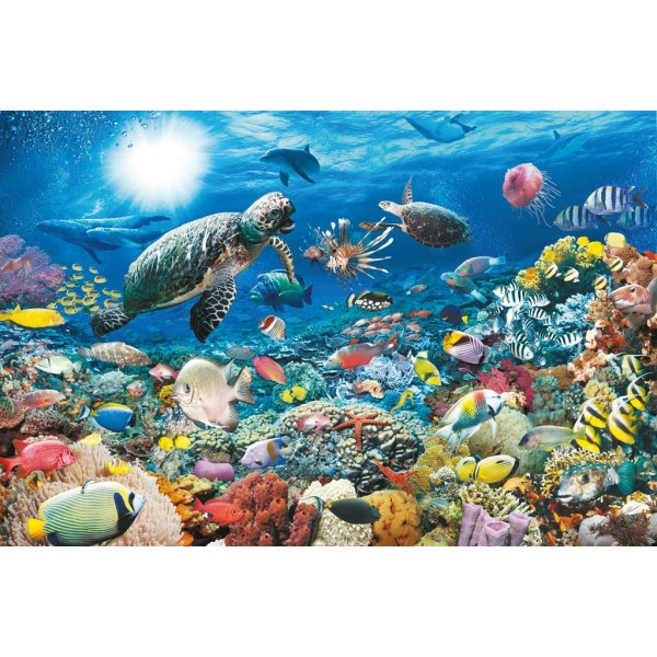 jigsaw puzzle 5000 pieces under the sea ravensburger. Black Bedroom Furniture Sets. Home Design Ideas