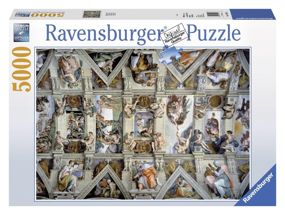 puzzle ravensburger 17429 5000 pieces jigsaw puzzles art. Black Bedroom Furniture Sets. Home Design Ideas