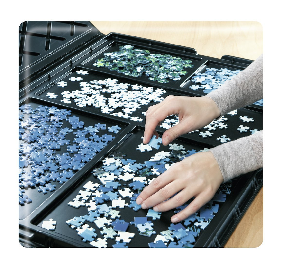 Puzzle Mat 300 1000 Pieces Sorter Ravensburger 17962