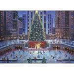 Puzzle  Ravenburger-19563 Christmas in New York