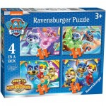 Ravensburger-03029 4 Jigsaw Puzzles - Paw Patrol